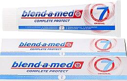 Духи, Парфюмерия, косметика Зубная паста - Blend-a-med Complete Protect 7 Original