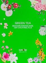 Духи, Парфюмерия, косметика Тканевая маска для лица - Eyenlip Green Tea Oil Moisture Essence Mask