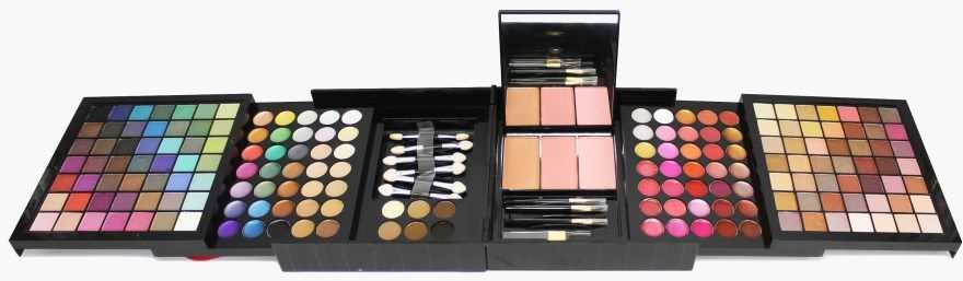 Профессиональная раздвижная палитра для макияжа 6в1 177 цветов - King Rose