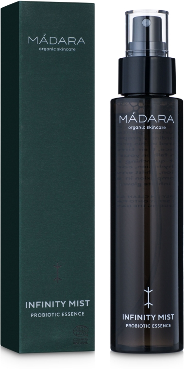 Увлажняющий тоник с пробиотиками для ухода за кожей лица - Mádara Cosmetics Infinity Mist Probiotic Essence