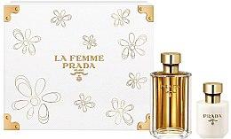 Духи, Парфюмерия, косметика Prada La Femme Prada - Набор (edp/100ml + b/lot/100ml)