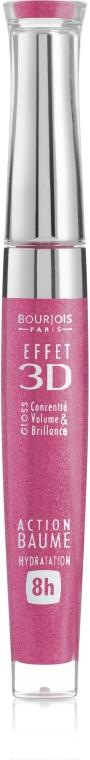 Блеск для губ с эффектом бальзама - Bourjois Effet 3D Balm Action 8h