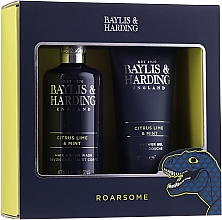 Парфумерія, косметика Набір - Baylis & Harding Men's Citrus Lime & Mint 2 Piece Set(hair/body/wash/300ml+sh/gel/200ml)