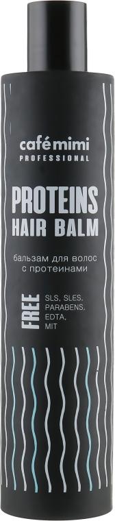 Бальзам для волос с протеинами - Cafe Mimi Professional Proteins Hair Balm