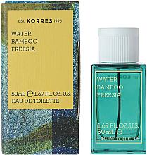Духи, Парфюмерия, косметика Korres Water Bamboo Freesia - Туалетная вода