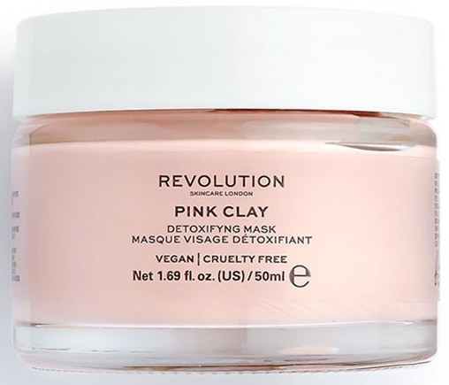 Маска-детокс для лица - Makeup Revolution Skincare Pink Clay Detoxifying Face Mask