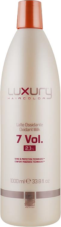 Молочний Оксидант - Green Light Luxury Haircolor Oxidant Milk 2.1% 7 vol. — фото N1