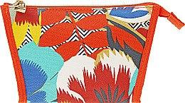 Духи, Парфюмерия, косметика Косметичка, оранжевая с разноцветным принтом - Estee Lauder