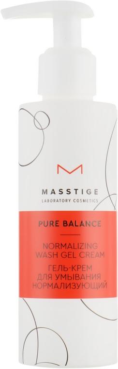 Нормализующий гель-крем для умывания - Masstige Pure Balance Normalizing Wash Gel Cream