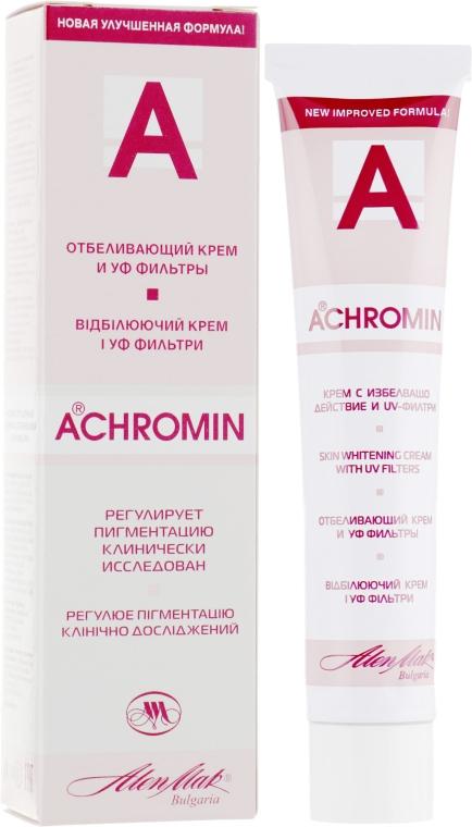 Отбеливающий крем от пигментных пятен - Achromin