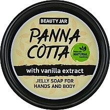 "Духи, Парфюмерия, косметика Мыло-желе для рук и тела ""Panna Cotta"" - Beauty Jar Jelly Soap For Hands And Body"