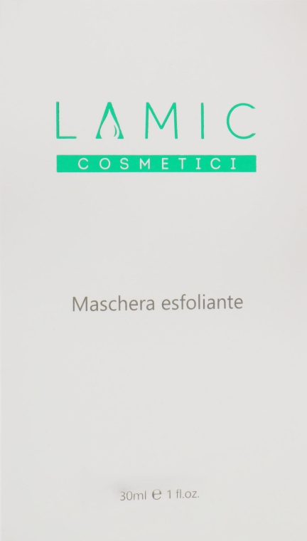 Маска-эксфолиант - Lamic Cosmetici Maschera Esfoliante