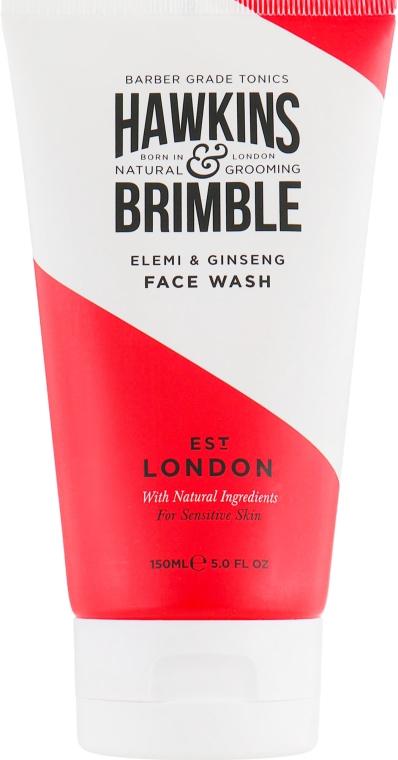 Очищающий гель для лица - Hawkins & Brimble Elemi & Ginseng Face Wash
