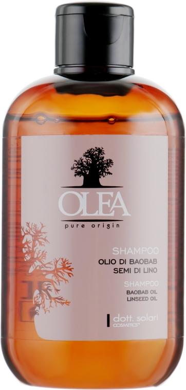 Шампунь на основе баобаба и льняного семени - Dott. Solari Olea Shampoo