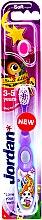 Духи, Парфюмерия, косметика Детская зубная щетка Step 2 (3-5) мягкая, фиолетовая с русалкой - Jordan