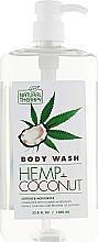 Духи, Парфюмерия, косметика Гель для душа с экстрактом конопли и маслом кокоса - Natural Therapy Hemp + Coconut Body Wash