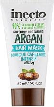 Духи, Парфюмерия, косметика Восстанавливающая маска для волос с аргановым маслом - Inecto Naturals Argan Hair Treatment