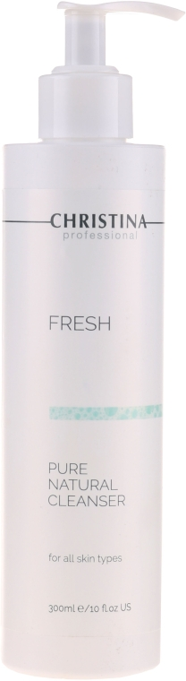 Натуральный очиститель для всех типов кожи - Christina Fresh Pure & Natural Cleanser