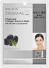 Духи, Парфюмерия, косметика Маска с коллагеном и древесным углем - Dermal Charcoal Collagen Essence Mask