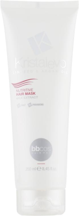 Маска для волос, питательная - Bbcos Kristal Evo Nutritive Hair Mask
