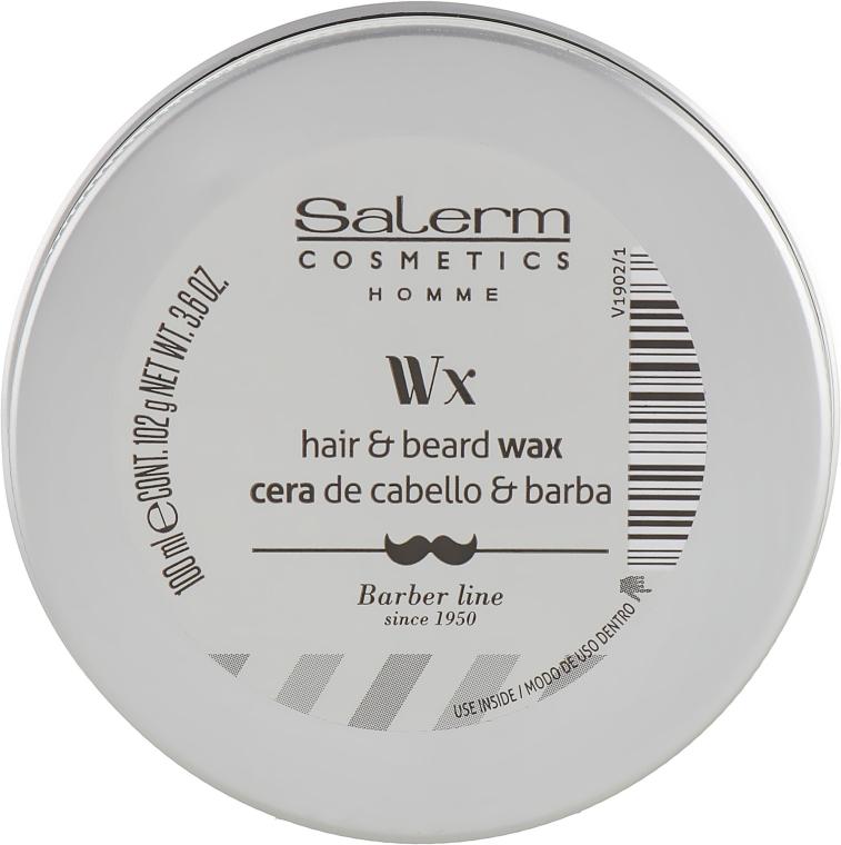 Воск для волос, бороды и усов - Salerm Homme Hair and Beard Wax