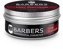 Парфумерія, косметика Помада для волосся, сильна фіксація - Barbers Modeling Hair Pamade High Hold