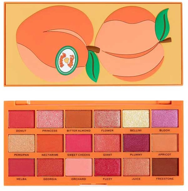 Палетка теней для век - I Heart Revolution Tasty Peach Eyeshadow Palette