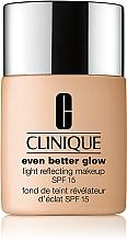 Духи, Парфюмерия, косметика Тональный крем - Clinique Even Better Glow Light Reflecting Makeup SPF 15