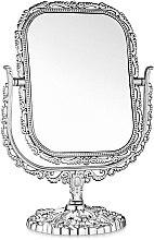Духи, Парфюмерия, косметика Зеркало косметическое двухстороннее, 208-8, прямоугольное, серое - Элита