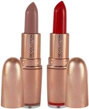 Духи, Парфюмерия, косметика Помада для губ - Makeup Revolution Rose Gold Lipstick