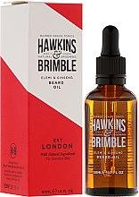 Духи, Парфюмерия, косметика Масло для бороды - Hawkins & Brimble Elemi & Ginseng Beard Oil