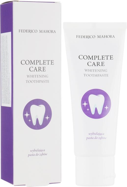 Зубная паста отбеливающая - Federico Mahora Complete Care