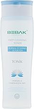Духи, Парфюмерия, косметика Очищающий тоник для нормальной и смешанной кожи лица - Bebak Laboratories Deep Cleaning Toner
