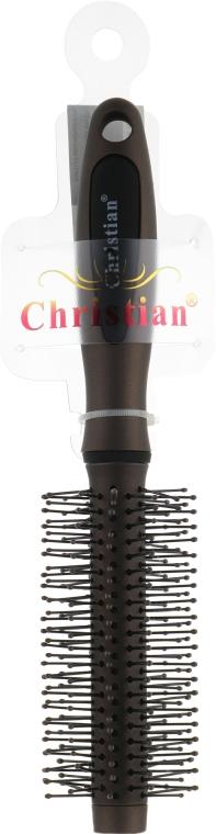 Щетка для укладки волос, CR-4241, бронзовая - Christian