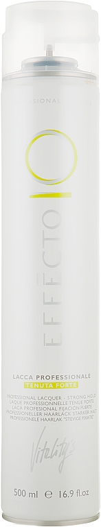 Лак для волос сильной фиксации - Vitality's Effecto Lacca Professionale Tenuta Forte