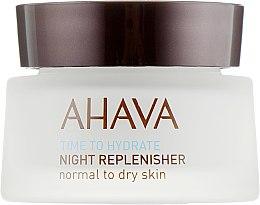 Духи, Парфюмерия, косметика Питательный ночной крем - Ahava Time To Hydrate Night Replenisher Normal to Dry Skin
