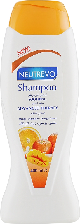 Шампунь для волос с манго, мандарином и маслом апельсина - Neutrevo Advanced Therapy Soothing