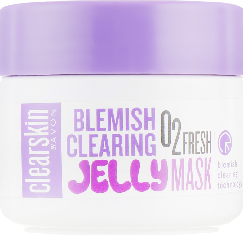 Гелевая маска для лица - Avon Clearskin Blemish Clearing Jelly Mask