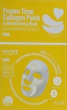 Духи, Парфюмерия, косметика Увлажняющая маска с патчами 2в1 для лица - Konad Iloje Frozen Time Collagen Patch & Moisturizing Mask