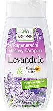 Духи, Парфюмерия, косметика Восстанавливающий шампунь - Bione Cosmetics Lavender Regenerative Hair Shampoo