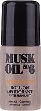 Духи, Парфюмерия, косметика Шариковый дезодорант - Gosh Copenhagen Musk Oil No.6 Roll-On Deodorant