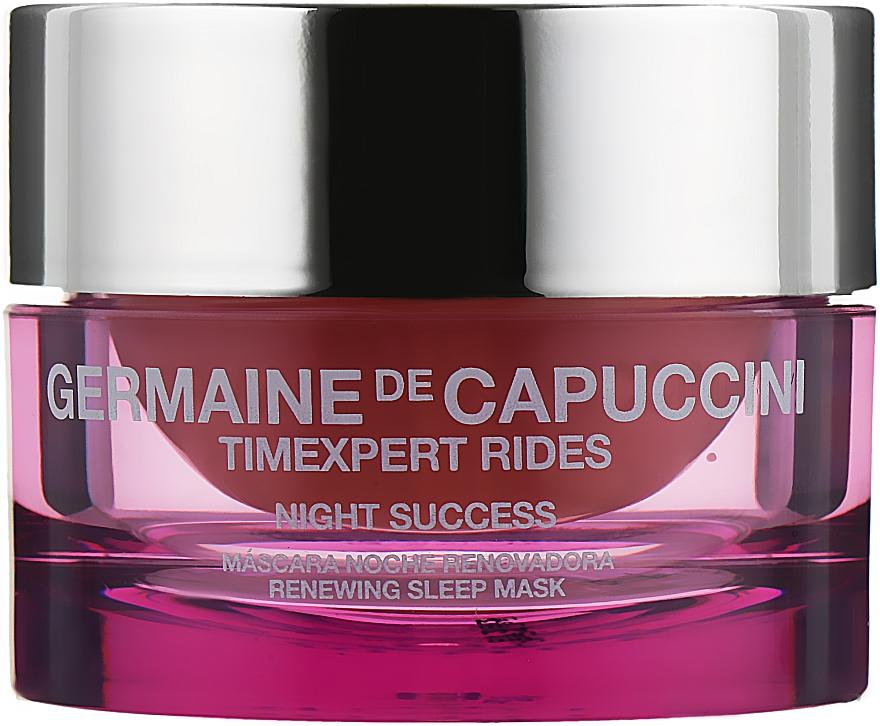 Маска для лица ночного восстановления - Germaine de Capuccini TimExpert Rides Night Success Renewing Sleep Mask