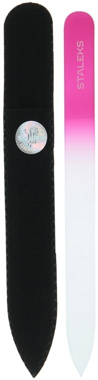 Пилочка хрустальная для ногтей, F4-12-140, фиолетовая - Staleks (14см)