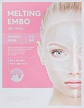 Духи, Парфюмерия, косметика Осветляющая маска для лица - Missha Embo Gel Mask Shining-Bomb