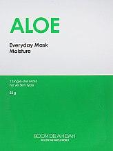 Увлажняющая маска для лица с алоэ - Boom De Ah Dah Everyday Mask Moisture Aloe — фото N1
