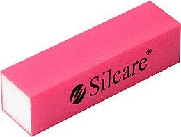 Духи, Парфюмерия, косметика Блок-полировщик для ногтей 4-х сторонний, розовый - Silcare