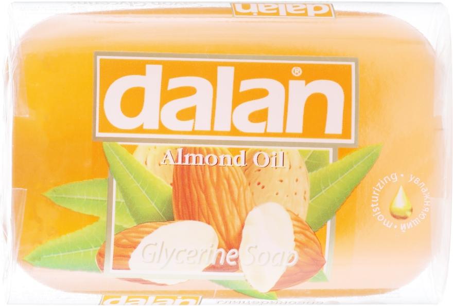 """Мыло глицериновое """"Миндальное"""" - Dalan Glycerine Soap"""