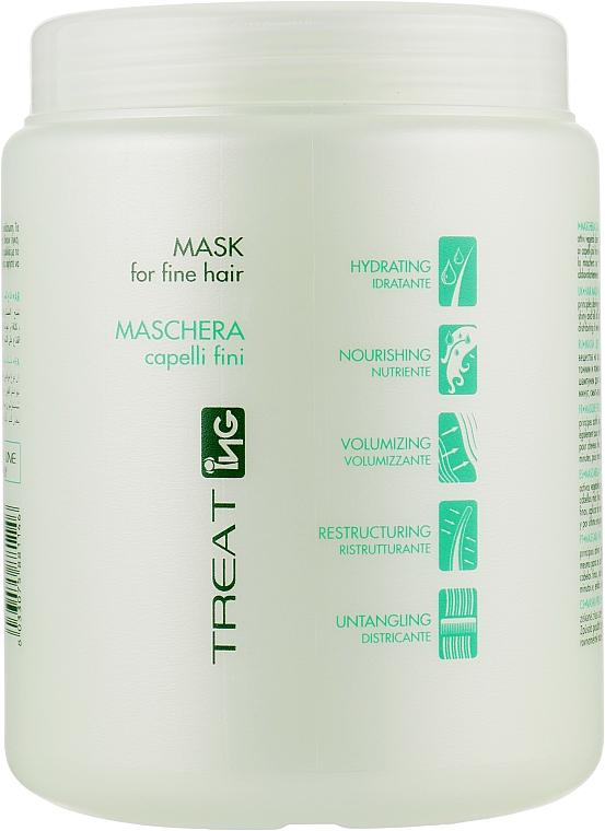 Маска для тонких волос - ING Professional Treat-Treating Mask For Fine Hair