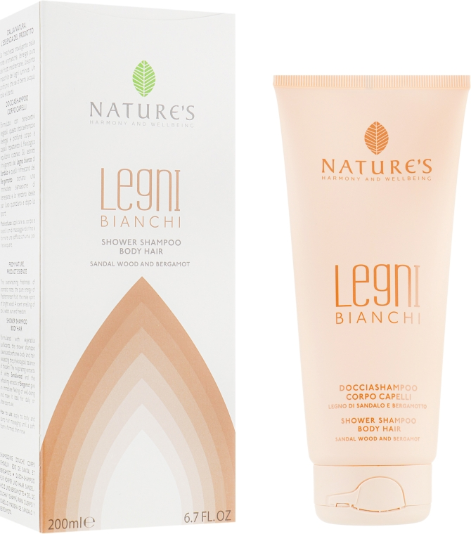 Шампунь-гель для душа - Nature's Legni Bianchi Shampoo & Shower Gel