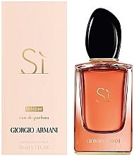 Giorgio Armani Si Intense - Интенсивная парфюмированная вода — фото N2